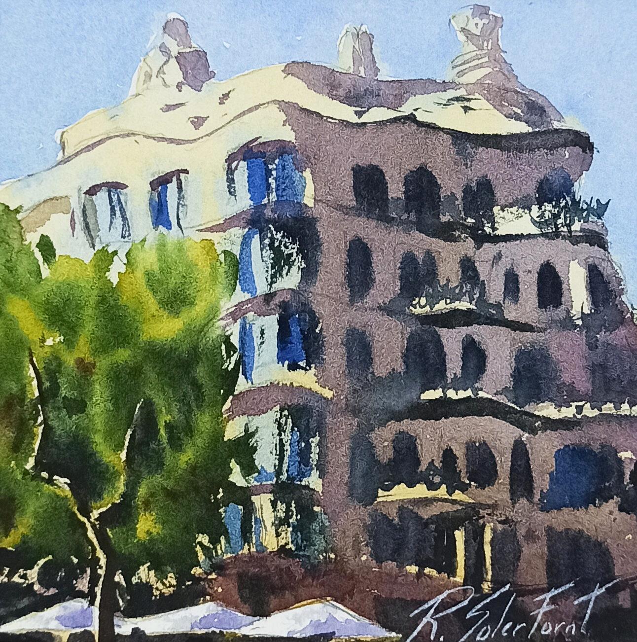 La Pedrera, Barcelona, 15 x 15 cm. (Disponible)