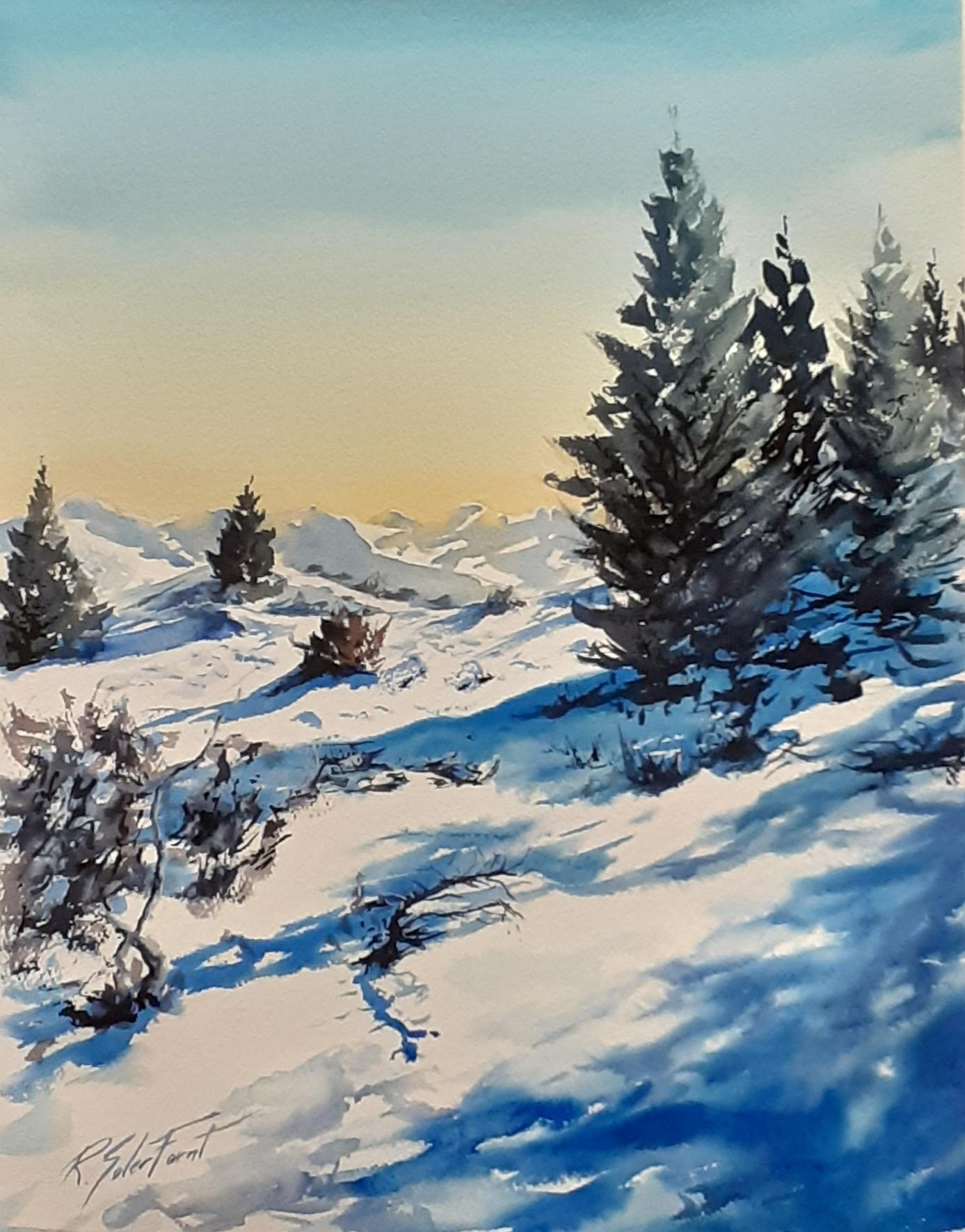 Vall d'Aran nevat, (Venuda)