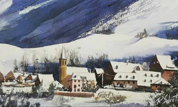 Poble nevat de la vall d'Aran, (Venut)
