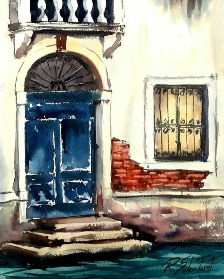La porta I la bimestre, 25 x 35 cm. (Venuda)