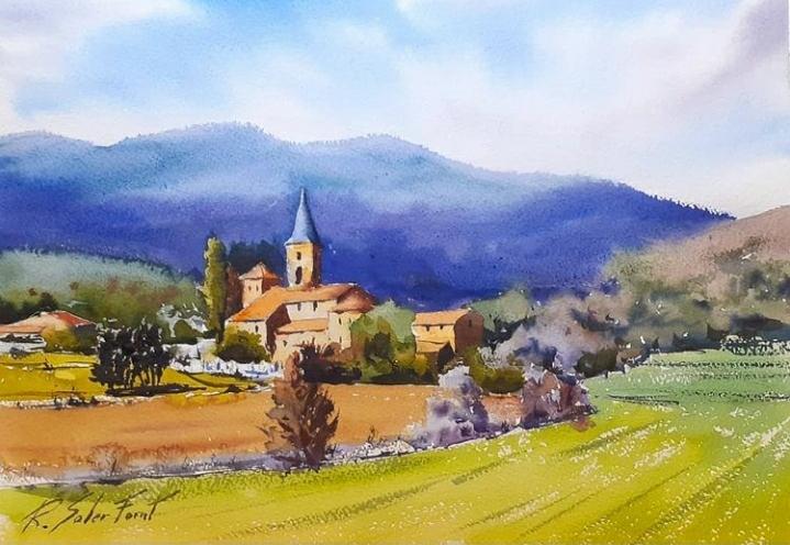 Canet d'Adri, 25 x 35 cm. (Disponible)